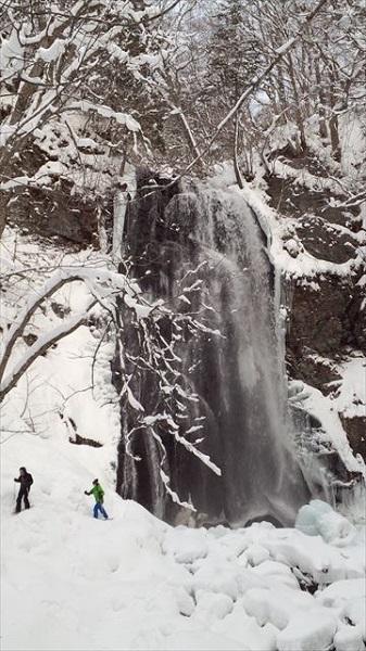 冬の裏磐梯